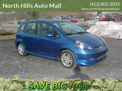 2007 Honda Fit for sale at North Hills Auto Mall in Pittsburgh PA