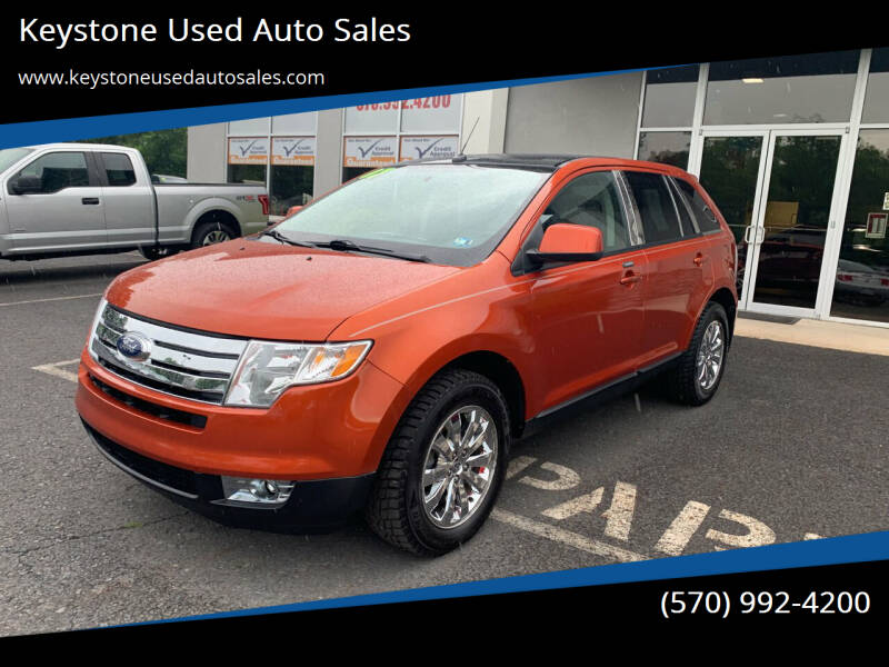2007 Ford Edge for sale at Keystone Used Auto Sales in Brodheadsville PA