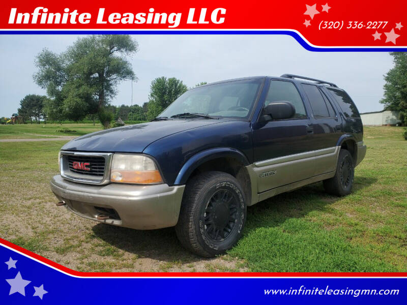2000 GMC Jimmy for sale at Infinite Leasing LLC in Lastrup MN