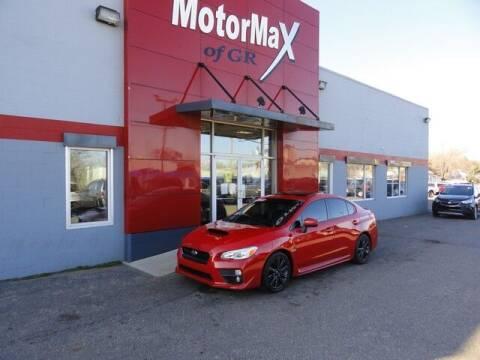 2015 Subaru WRX for sale at MotorMax of GR in Grandville MI