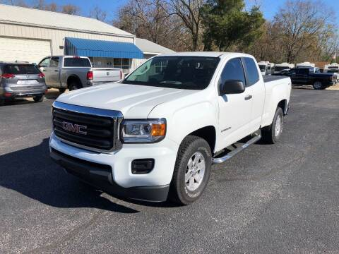2016 GMC Canyon for sale at Jones Auto Sales in Poplar Bluff MO