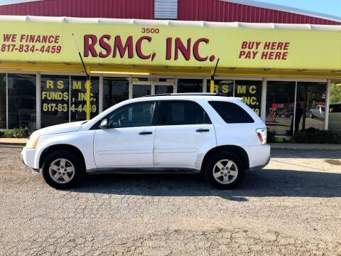 2005 Chevrolet Equinox for sale at Ron Self Motor Company in Fort Worth TX