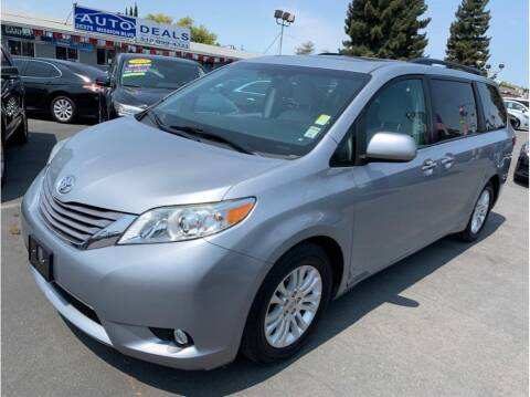 2016 Toyota Sienna for sale at AutoDeals in Hayward CA