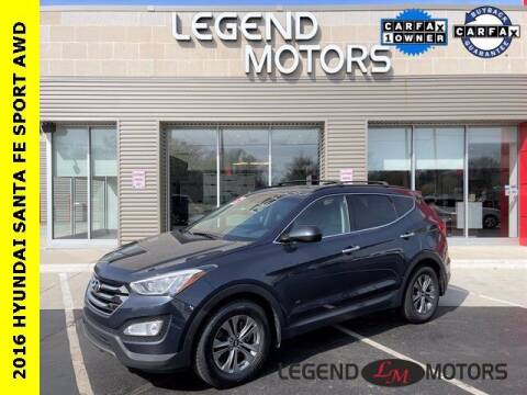 2016 Hyundai Santa Fe Sport for sale at Legend Motors of Waterford in Waterford MI