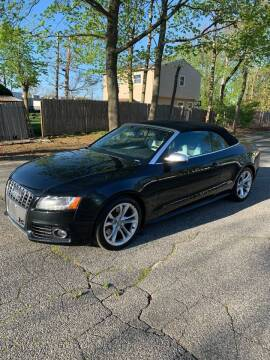 2011 Audi S5 for sale at Long Island Exotics in Holbrook NY