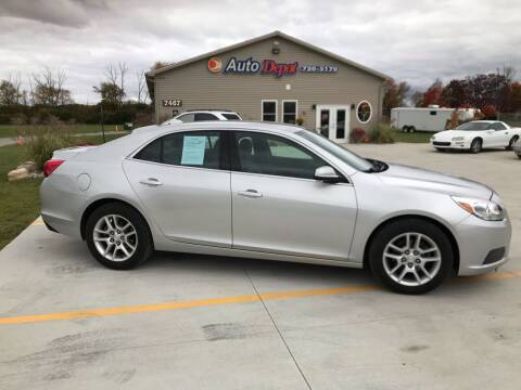 2013 Chevrolet Malibu for sale at The Auto Depot in Mount Morris MI