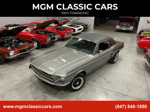 1967 Ford Mustang for sale at MGM Classic Cars in Addison, IL
