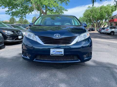 2012 Toyota Sienna for sale at Global Automotive Imports of Denver in Denver CO
