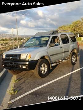 2000 Nissan Xterra for sale at Everyone Auto Sales in Santa Clara CA