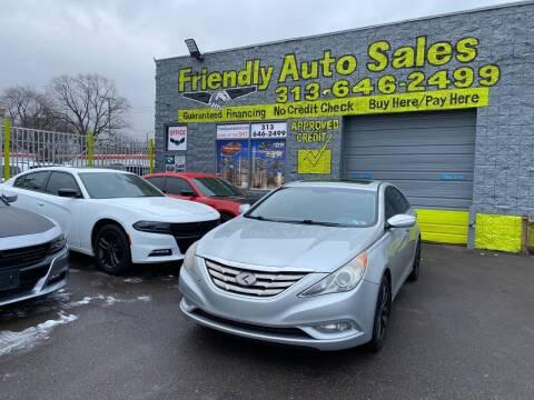 2011 Hyundai Sonata for sale at Friendly Auto Sales in Detroit MI