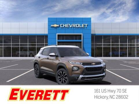 2021 Chevrolet TrailBlazer for sale at Everett Chevrolet Buick GMC in Hickory NC