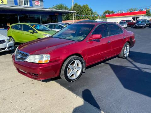 2002 Acura TL for sale at Wise Investments Auto Sales in Sellersburg IN