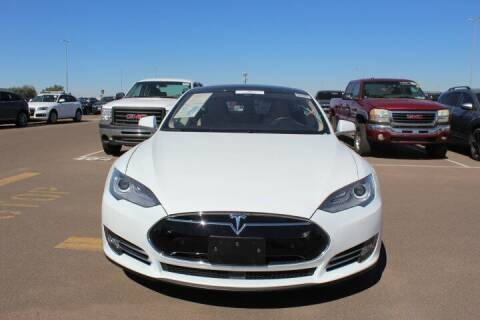 2016 Tesla s90d for sale at CLASSIC SPORTS & TRUCKS in Peoria AZ