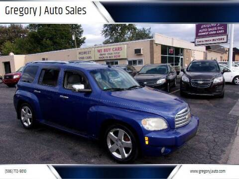 2006 Chevrolet HHR for sale at Gregory J Auto Sales in Roseville MI