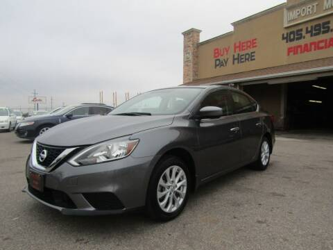 2019 Nissan Sentra for sale at Import Motors in Bethany OK