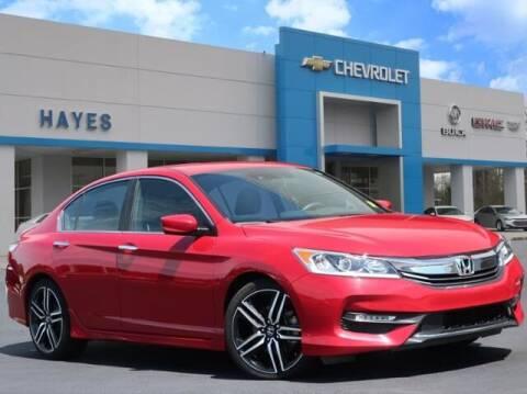 2016 Honda Accord for sale at HAYES CHEVROLET Buick GMC Cadillac Inc in Alto GA