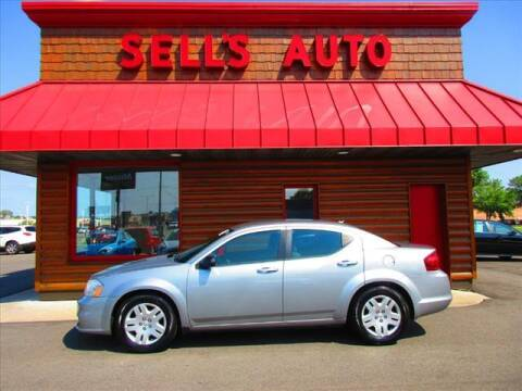 2013 Dodge Avenger for sale at Sells Auto INC in Saint Cloud MN