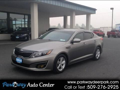 2014 Kia Optima for sale at PARKWAY AUTO CENTER AND RV in Deer Park WA