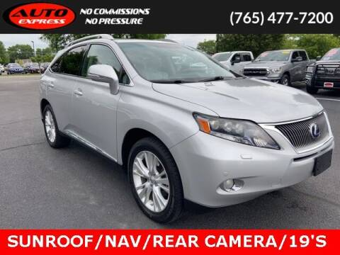 2010 Lexus RX 450h for sale at Auto Express in Lafayette IN