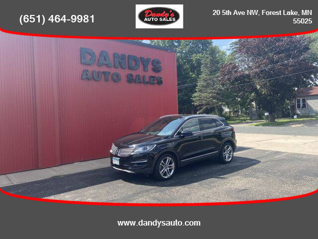 2016 Lincoln MKC for sale at Dandy's Auto Sales in Forest Lake MN