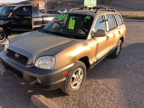 2004 Hyundai Santa Fe for sale at Hilltop Motors in Globe AZ