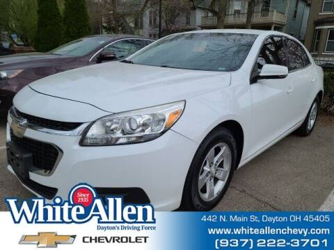 2015 Chevrolet Malibu for sale at WHITE-ALLEN CHEVROLET in Dayton OH