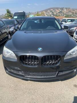 2012 BMW 7 Series for sale at GRAND AUTO SALES - CALL or TEXT us at 619-503-3657 in Spring Valley CA