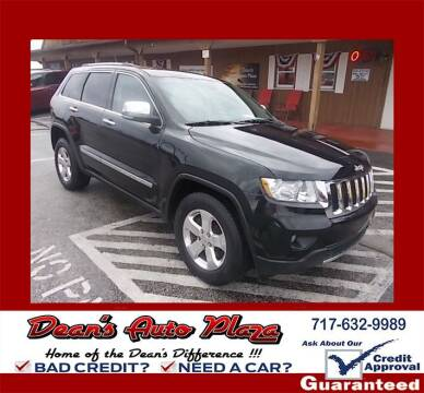 2013 Jeep Grand Cherokee for sale at Dean's Auto Plaza in Hanover PA