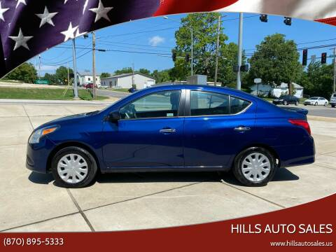 2019 Nissan Versa for sale at Hills Auto Sales in Salem AR