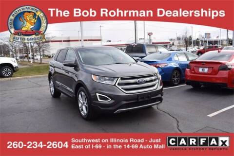 2016 Ford Edge for sale at BOB ROHRMAN FORT WAYNE TOYOTA in Fort Wayne IN