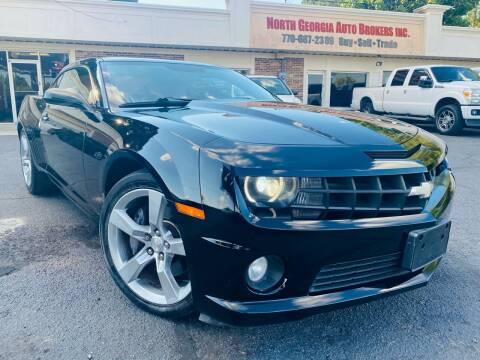 2012 Chevrolet Camaro for sale at North Georgia Auto Brokers in Snellville GA