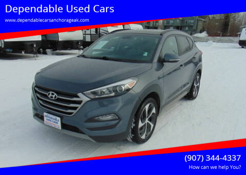 2017 Hyundai Tucson for sale at Dependable Used Cars in Anchorage AK