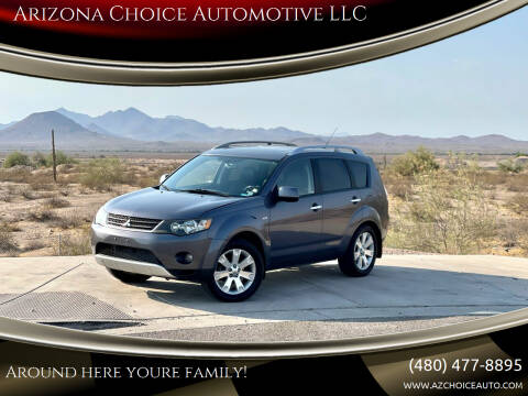2007 Mitsubishi Outlander for sale at Arizona Choice Automotive LLC in Mesa AZ
