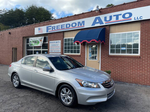 2011 Honda Accord for sale at FREEDOM AUTO LLC in Wilkesboro NC