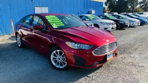 2019 Ford Fusion Hybrid for sale at La Playita Auto Sales Tulare in Tulare CA