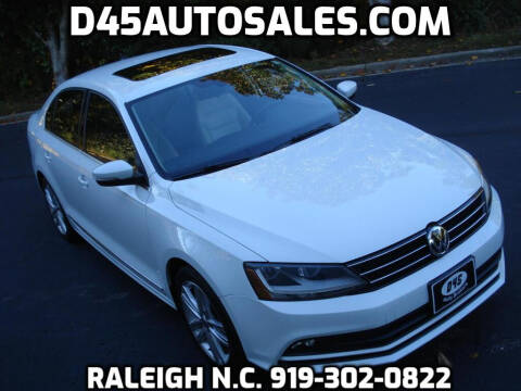 2017 Volkswagen Jetta for sale at D45 Auto Brokers in Raleigh NC