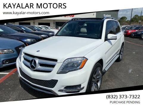 2015 Mercedes-Benz GLK for sale at KAYALAR MOTORS in Houston TX