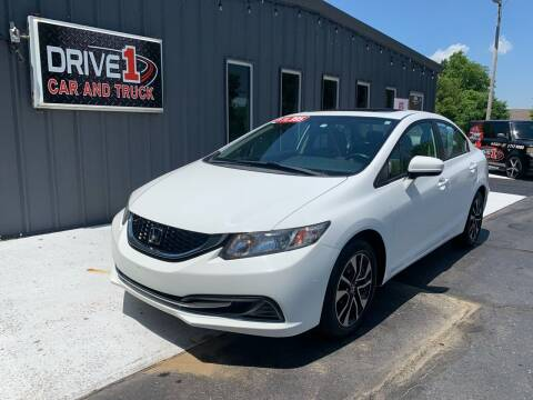 2014 Honda Civic for sale at Drive 1 Car & Truck in Springfield OH