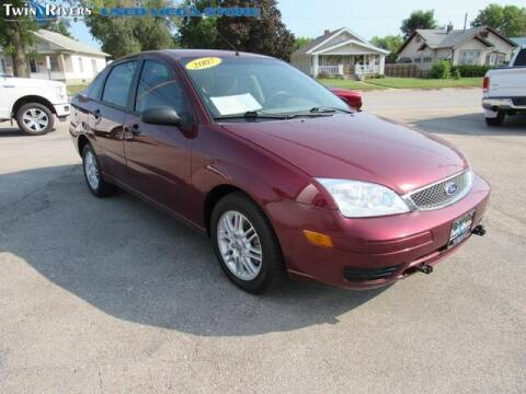 2007 Ford Focus for sale at TWIN RIVERS CHRYSLER JEEP DODGE RAM in Beatrice NE