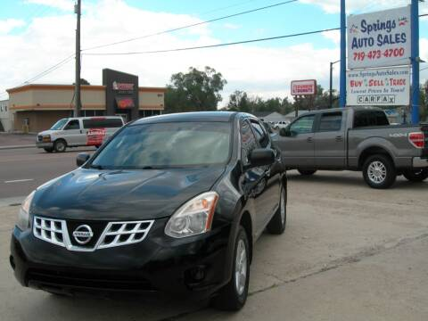 2012 Nissan Rogue for sale at Springs Auto Sales in Colorado Springs CO