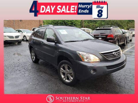2007 Lexus RX 400h for sale at Southern Star Automotive, Inc. in Duluth GA