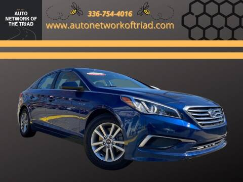 2016 Hyundai Sonata for sale at Auto Network of the Triad in Walkertown NC