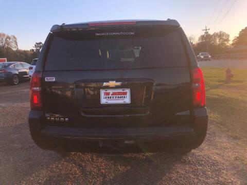 2015 Chevrolet Tahoe for sale at Auto Group South - Tim Jackson Automotive in Jonesville LA