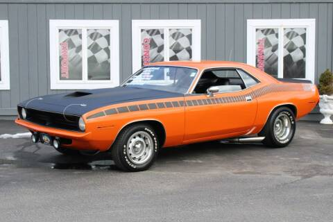 1970 Plymouth Barracuda for sale at Great Lakes Classic Cars & Detail Shop in Hilton NY