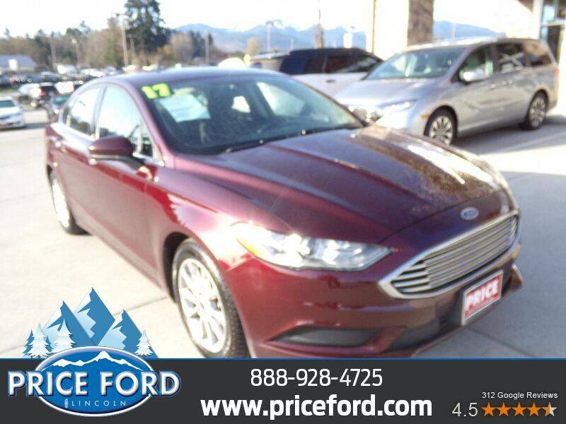 2017 Ford Fusion for sale at Price Ford Lincoln in Port Angeles WA