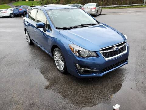 2016 Subaru Impreza for sale at DISCOUNT AUTO SALES in Johnson City TN