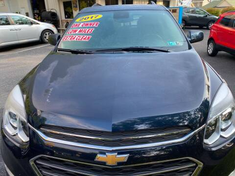 2017 Chevrolet Equinox for sale at WHARTON'S AUTO SVC & USED CARS in Wheeling WV