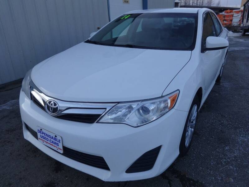 2014 Toyota Camry for sale at Dependable Used Cars in Anchorage AK