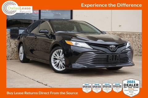 2019 Toyota Camry for sale at Dallas Auto Finance in Dallas TX