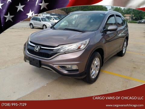2015 Honda CR-V for sale at Cargo Vans of Chicago LLC in Mokena IL